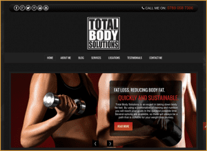 Total Body Solutions Web Design