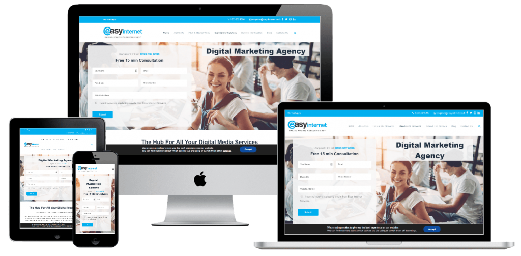 Easy Internet - web design by Easy Internet, Leicester