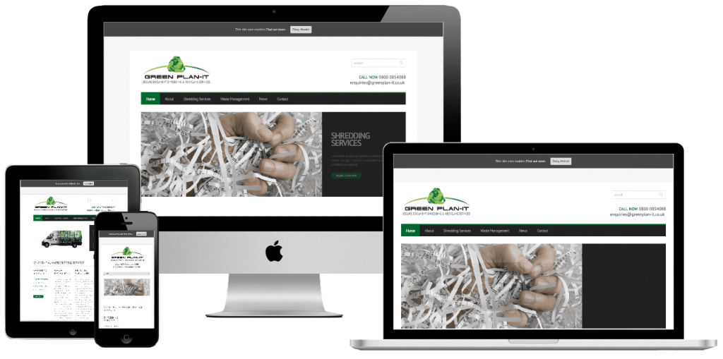 Green Plan-It - web design by Easy Internet, Leicester