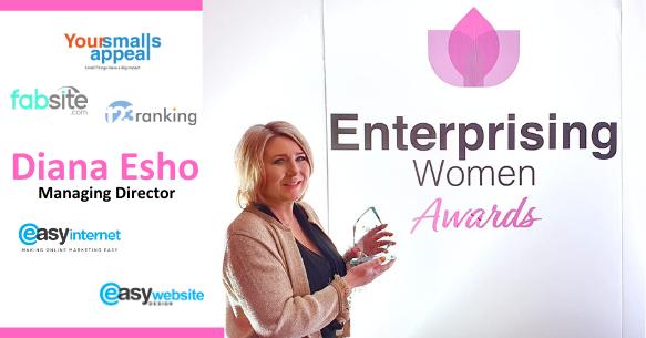 Diana Esho - Enterprising women awards