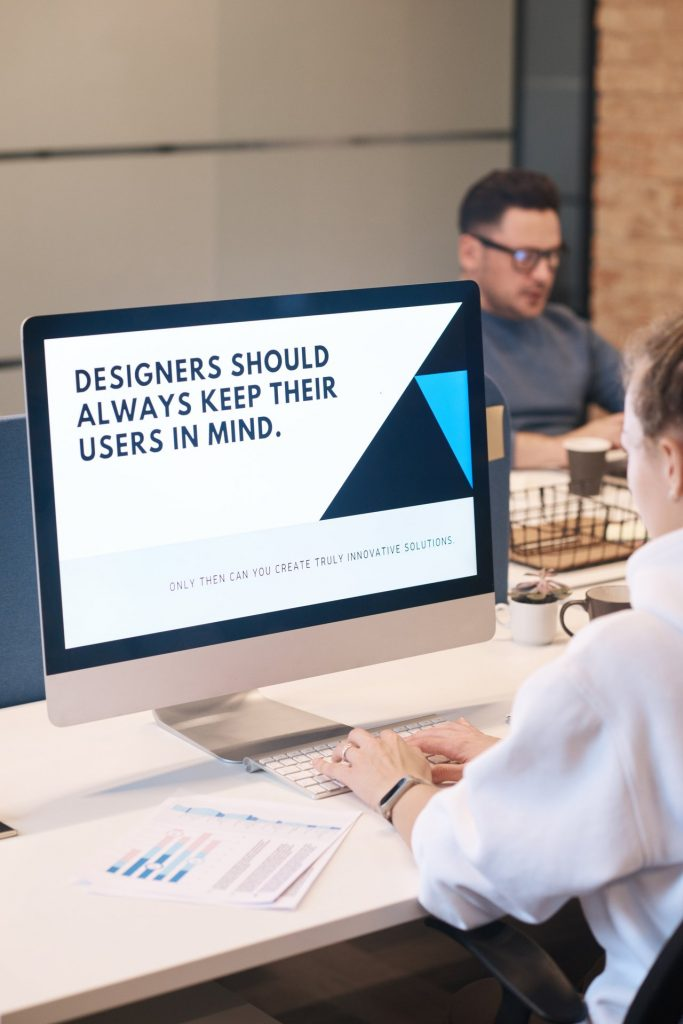 Designers should keep users in mind